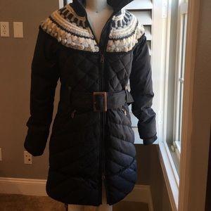 UGG winter jacket puffer Nordic fair isle